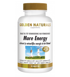Golden Naturals More Energy 90 tabletten