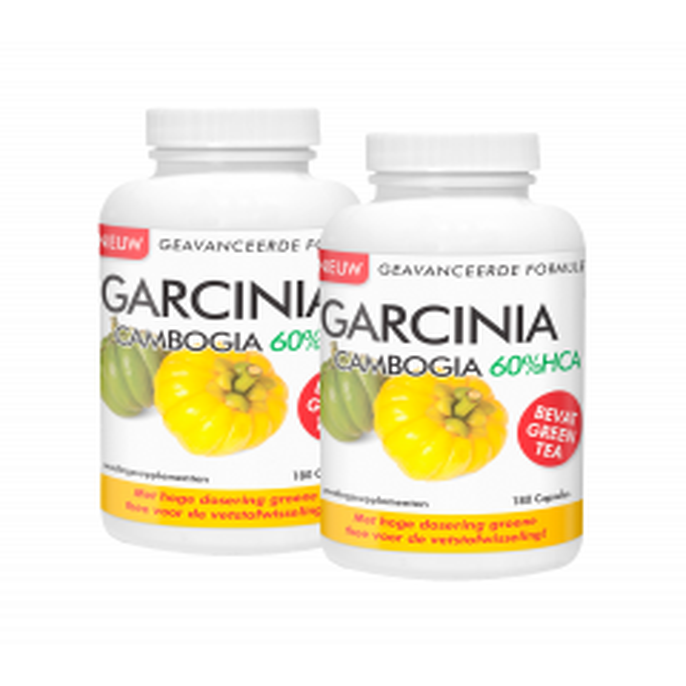 Duopakket Garcinia Cambogia 60%HCA 2 x 180 capsules