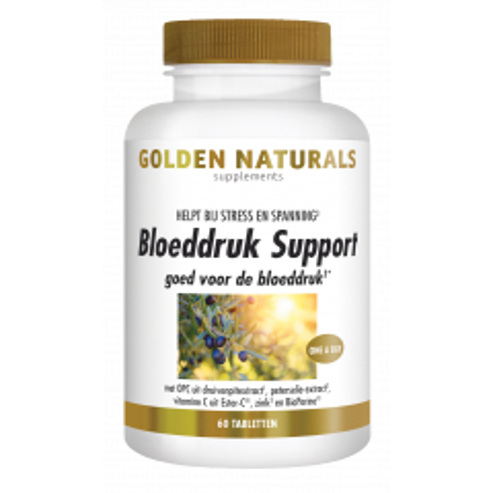 Bloeddruk Support 60 veganistische tabletten