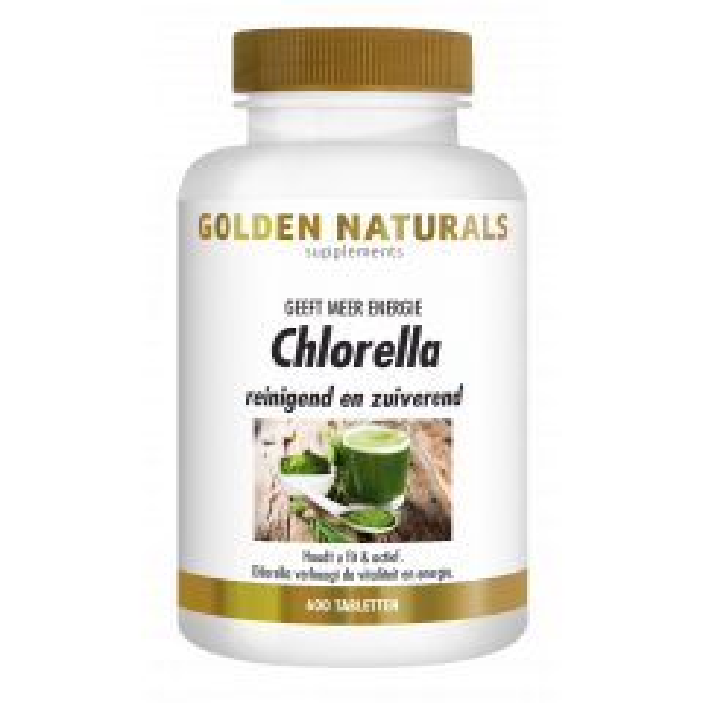 Chlorella 600 veganistische tabletten