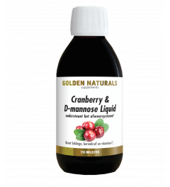 Golden Naturals Cranberry & D-mannose Liquid 250 milliliter