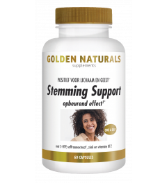 Golden Naturals Stemming Support 60 vegetarische capsules