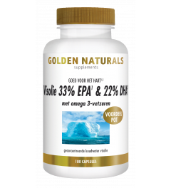 Golden Naturals Visolie 33% EPA & 22% DHA 180 softgel capsules