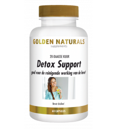 Golden Naturals Detox Support 60 vegetarische capsules