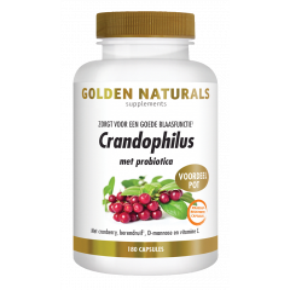 Crandophilus 180 veganistische maagsapresistente capsules