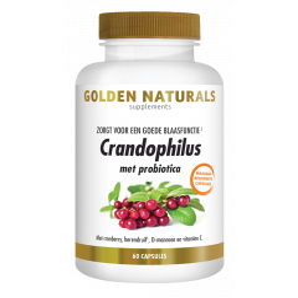 Crandophilus 60 veganistische maagsapresistente capsules
