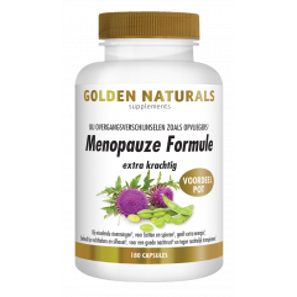 Menopauze Formule extra krachtig 180 vegetarische capsules