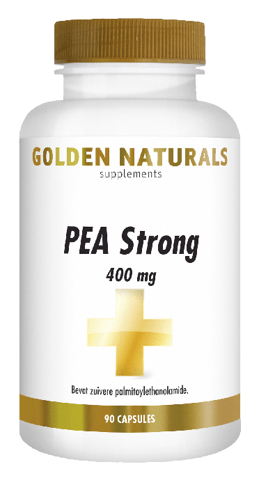 Golden Naturals PEA Strong 400 mg 90 vegetarische capsules