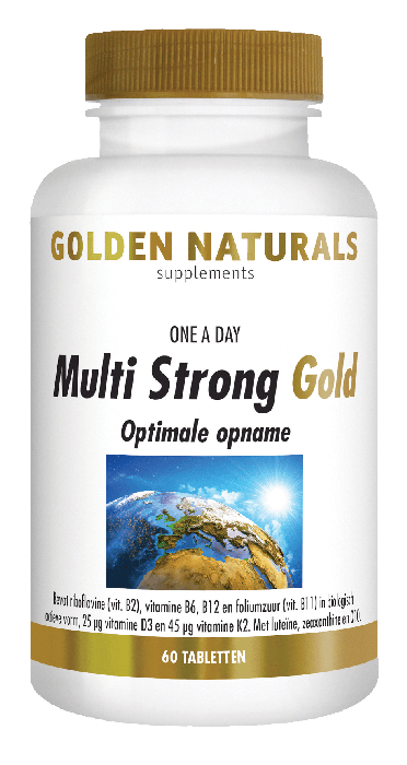 Golden Naturals Multi Strong Gold 60 tabletten