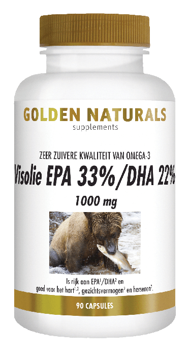 Golden Naturals Visolie EPA 33%/DHA 22% 90 softgel capsules
