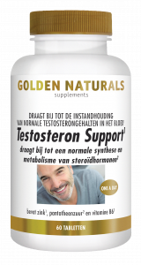 Testosteron Support 60 veganistische tabletten