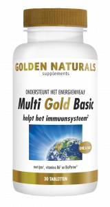 Multi Gold Basic 30 vegetarische tabletten