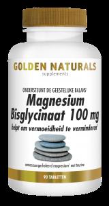 Magnesium Bisglycinaat 100 mg 90 veganistische tabletten