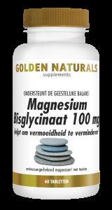 Magnesium Bisglycinaat 100 mg 60 veganistische tabletten