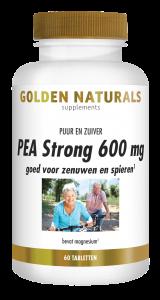 PEA Strong 600 mg 60 veganistische tabletten