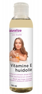 Vitamine E-huidolie 150 milliliter