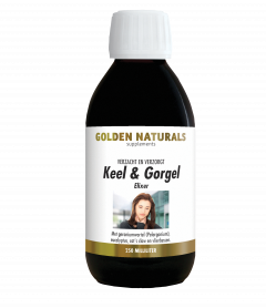 Keel & Gorgel Elixer 250 milliliter