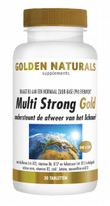 Multi Strong Gold 30 vegetarische tabletten