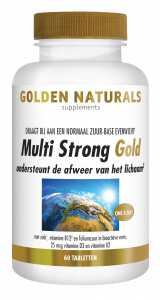 Multi Strong Gold 60 vegetarische tabletten