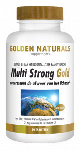 Multi Strong Gold 90 vegetarische tabletten