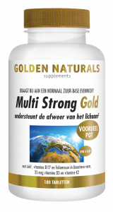 Multi Strong Gold 180 vegetarische tabletten