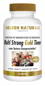 Multi Strong Gold Tiener 60 vegetarische tabletten