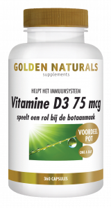 Vitamine D3 75 mcg 360 softgel capsules