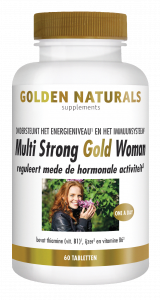 Multi Strong Gold Woman 60 vegetarische tabletten