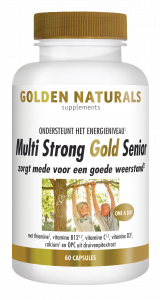 Multi Strong Gold Senior 60 vegetarische capsules