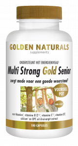 Multi Strong Gold Senior 180 vegetarische capsules