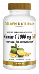 Vitamine C 1000 mg Gold 60 veganistische tabletten