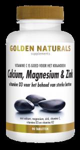 Calcium, Magnesium & Zink 90 vegetarische tabletten