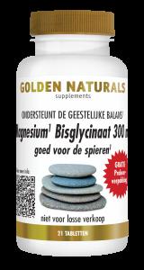 Magnesium Bisglycinaat 300 mg 21 veganistische tabletten