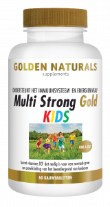 Multi Strong Gold Kids 60 kauwtabletten