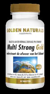 Multi Strong Gold 30 vegetarische tabletten