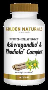 Ashwagandha & Rhodiola Complex 60 vegetarische capsules