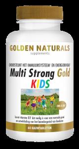 Multi Strong Gold Kids 60 kauwtabletten