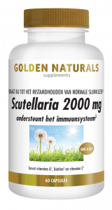 Scutellaria 2000 mg 60 veganistische capsules