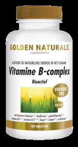 Vitamine B-complex 180 veganistische tabletten