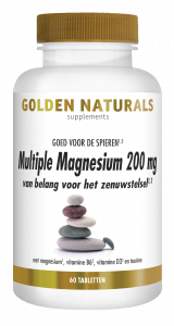 Multiple Magnesium 200 mg 60 veganistische tabletten