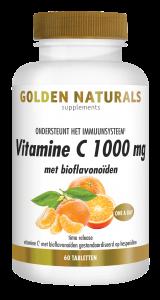 Vitamine C 1000 mg met bioflavonoïden 60 veganistische tabletten