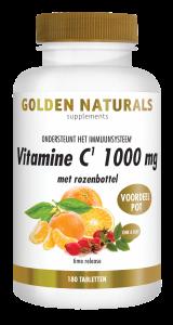 Vitamine C 1000 mg met rozenbottel 180 veganistische tabletten