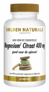 Magnesium Citraat 400 mg 60 veganistische tabletten