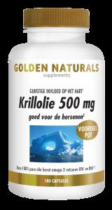 Krillolie 500 mg 180 softgel capsules