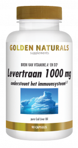 Levertraan 90 softgel capsules