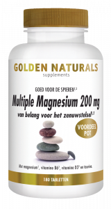 Multiple Magnesium 200 mg 180 veganistische tabletten