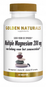 Multiple Magnesium 200 mg 60 veganistische tabletten