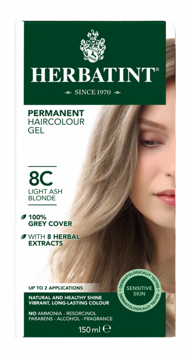 8C Light Ash Blonde 150 milliliter