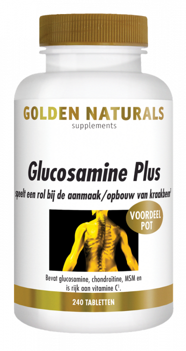 Golden Naturals Glucosamine Plus 240 tabletten