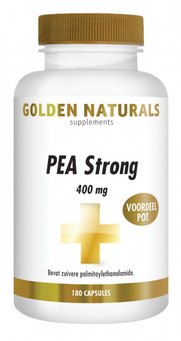 Golden Naturals PEA Strong 400 mg 180 vegetarische capsules